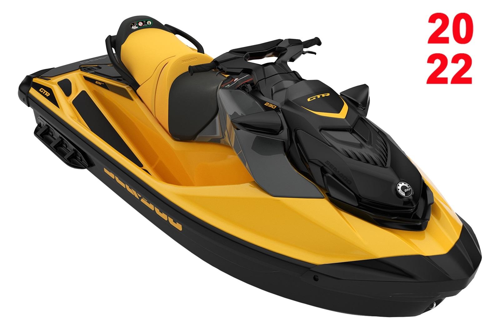 Sea Doo GTR STD 3-up 230hp oranžovo-černý