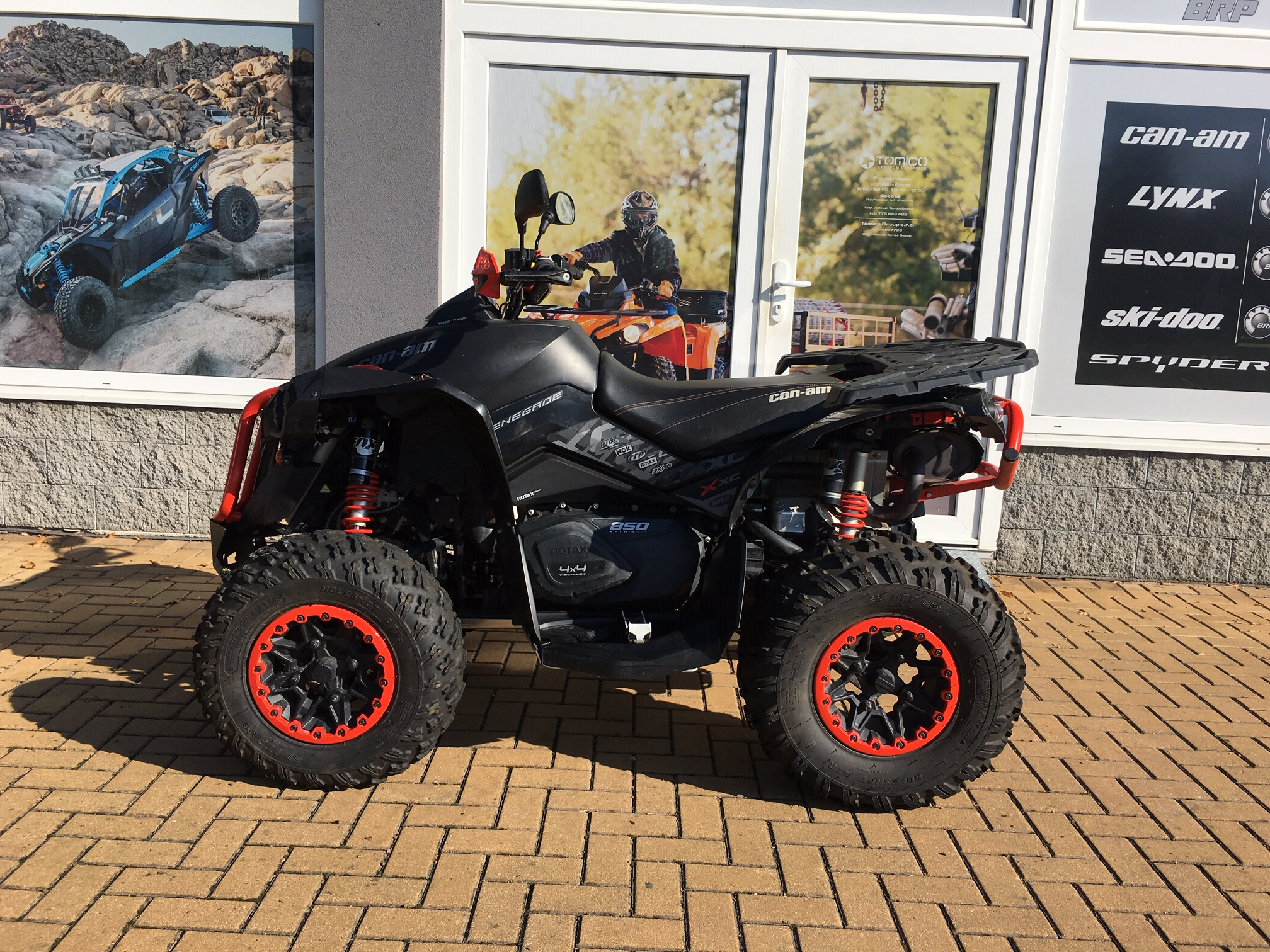 Can-Am Renegade 850 XXC model 2016