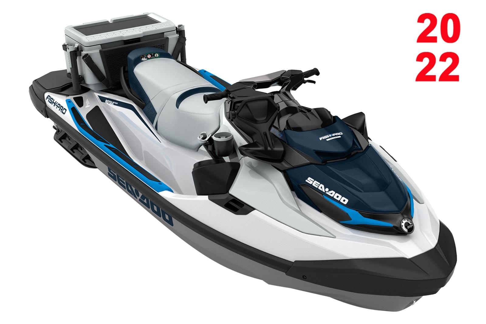 Sea Doo FISHPro Sport 170 3-up 170hp bílo-modrý