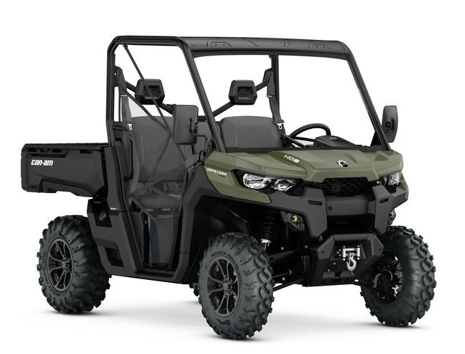 Can-Am Traxter HD8 XU Green