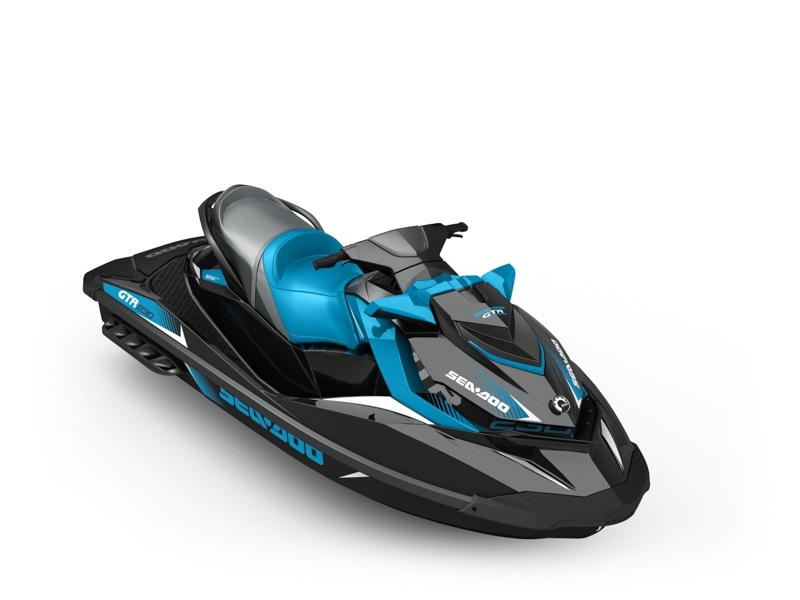 Sea Doo GTR STD 3-up 230hp černo-modrý