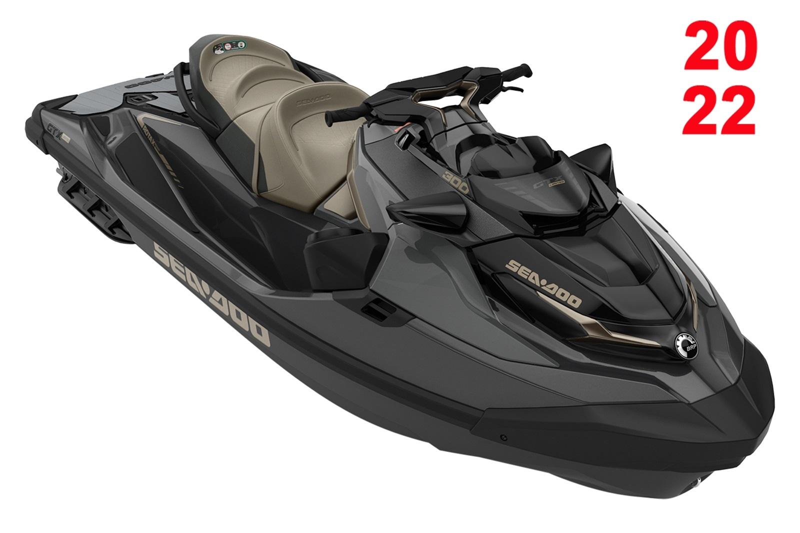 Sea Doo GTX LTD 3-up 300hp černý