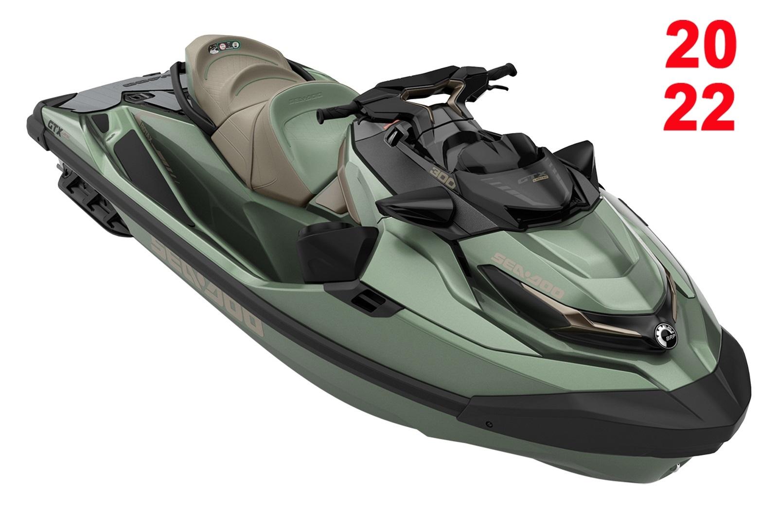 Sea Doo GTX LTD 3-up 300hp zelená metalíza