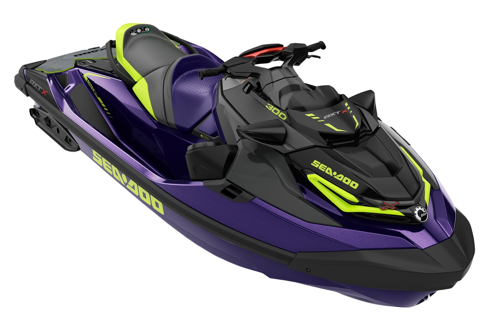 Sea Doo RXT XRS 3-up 300hp fialový s audio