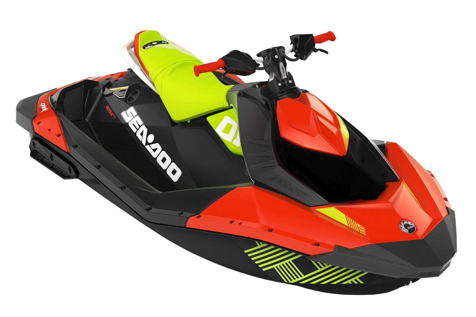 Sea Doo SPARK Trixx 900 HO ACE 2-up iBR 90hp zeleno-červený