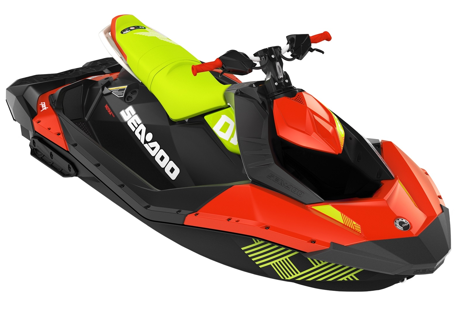 Sea Doo SPARK Trixx 900 HO ACE 3-up iBR 90hp zeleno-červený