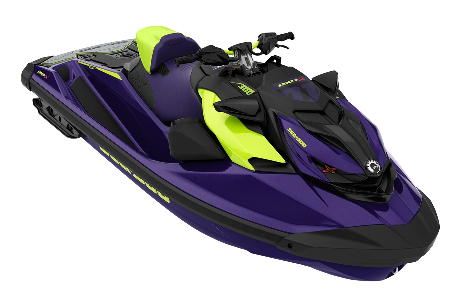 Sea Doo RXP XRS 1+1-up 300hp fialový s Audio