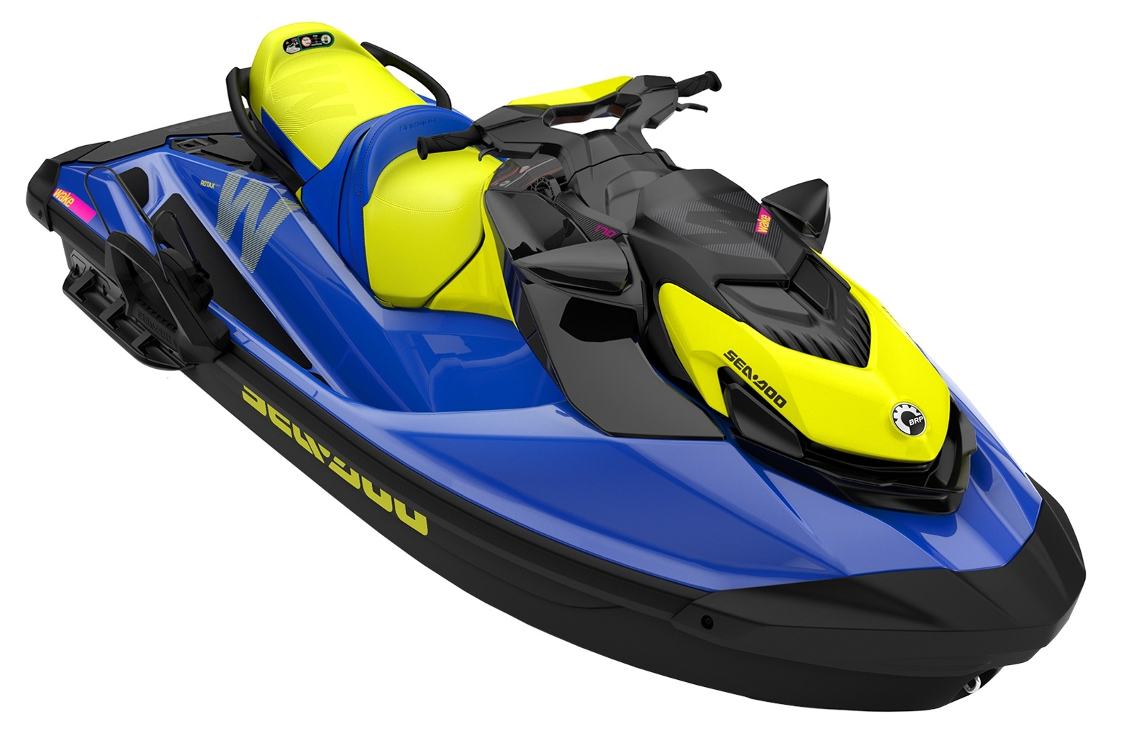 Sea Doo WAKE 170 3-up 170hp modro-žlutý