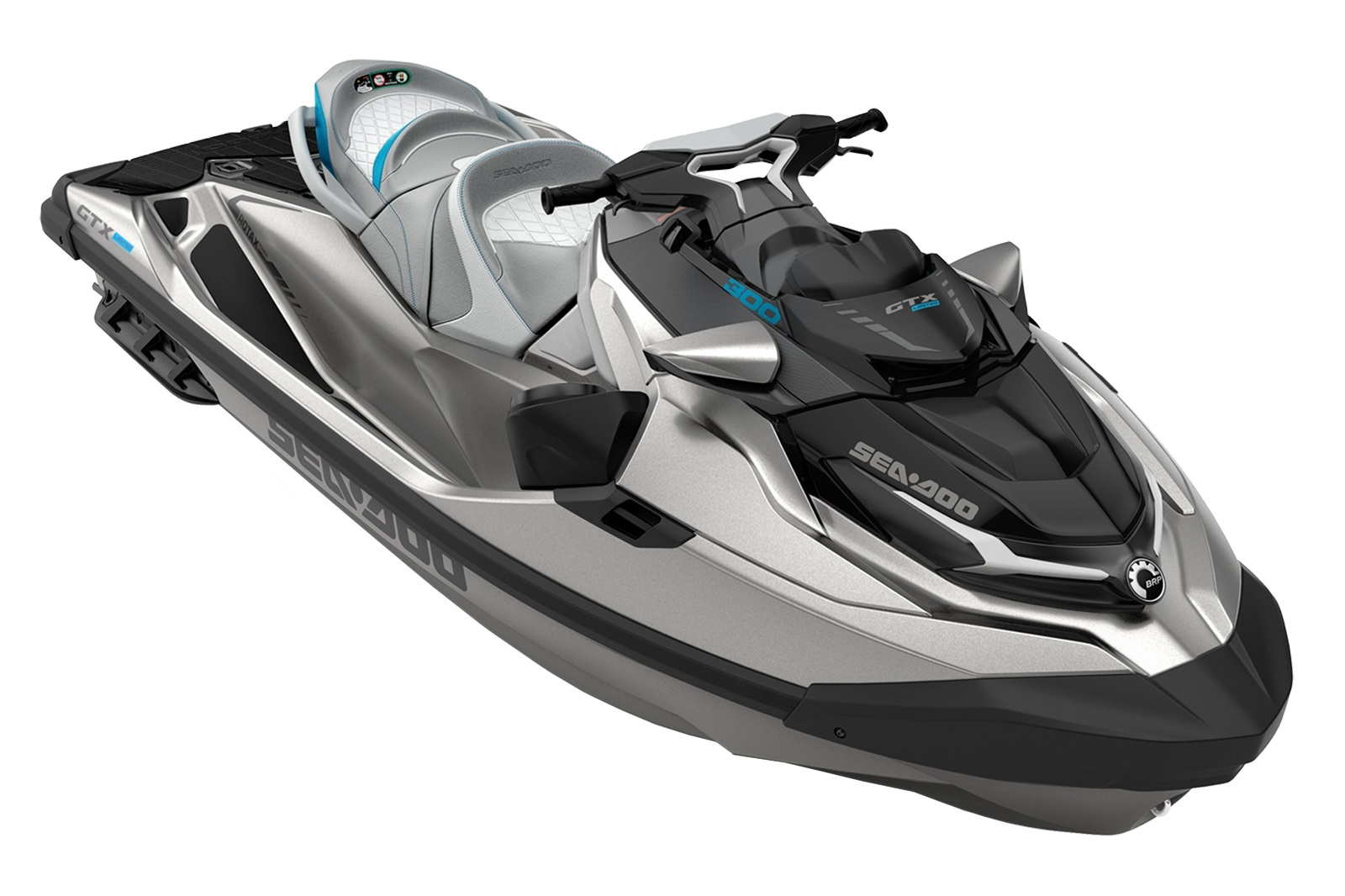 Sea Doo GTX LTD 3-up 300hp šedá metalíza