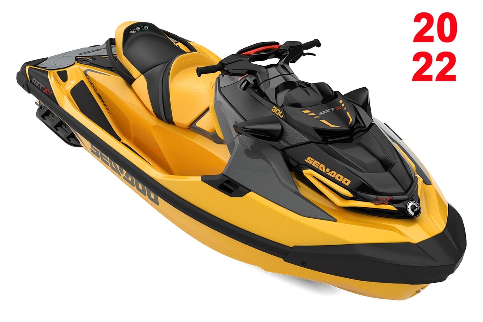 Sea Doo RXT XRS 3-up 300hp oranžový