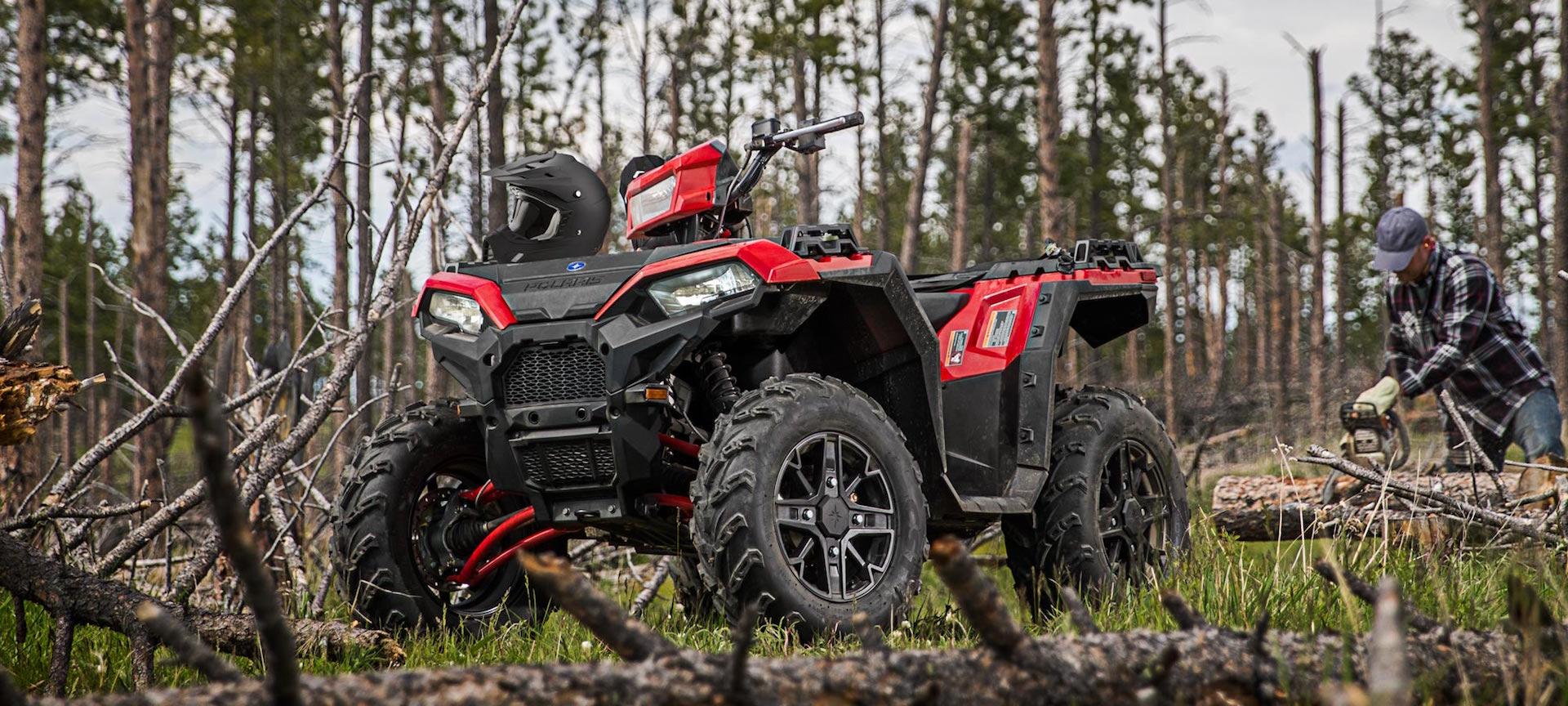 Nový Polaris Sportsman XP1000 2018