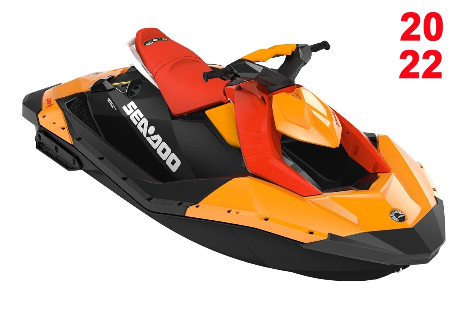 Sea Doo SPARK 900 ACE 2-up 60hp oranžovo-černý