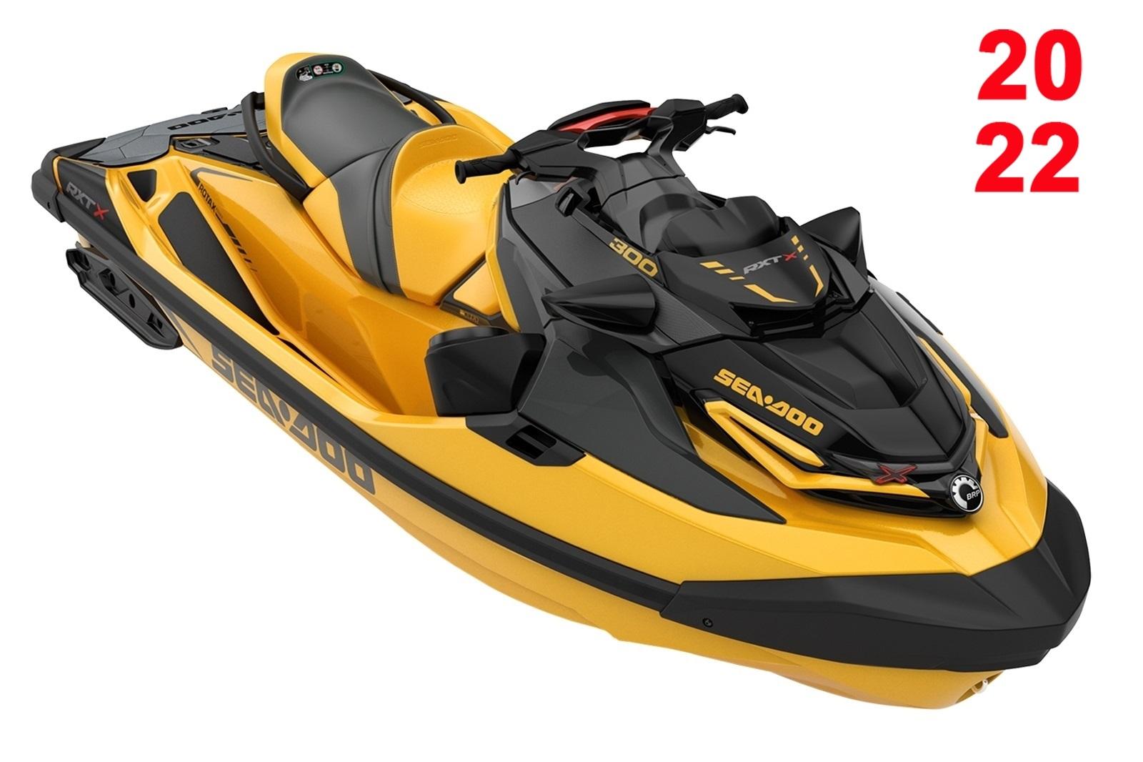 Sea Doo RXT XRS 3-up 300hp s audio oranžový